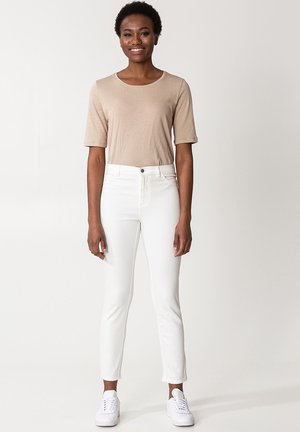 GRACE ANCLE - Trousers - white