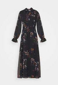 NU-IN - SLEEVE MAXI DRESS - Robe longue - black - 3