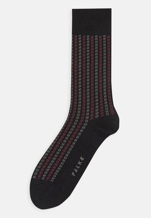 PIN STRIPE - Socks - black