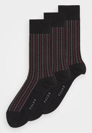 PIN STRIPE - Socks - black