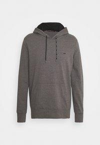 Michael Kors - LONG SLEEVE HOODIE - Sweatshirt - black - 6