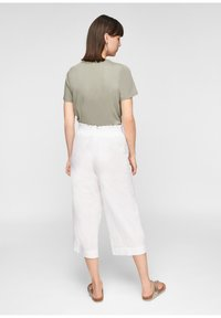 s.Oliver - Trousers - white - 2
