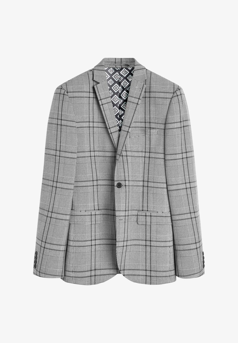 Next - SLIM FIT  - Suit jacket - grey