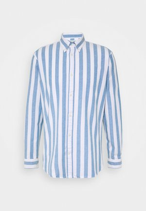 SLHREGWIDE STRIPE - Chemise - light blue