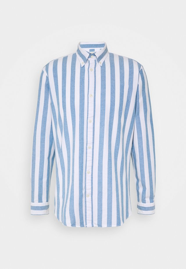 SLHREGWIDE STRIPE - Shirt - light blue
