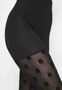 Diesel - UFLB-FAUSTINCUT-LP - Leggings - Stockings - black - 2