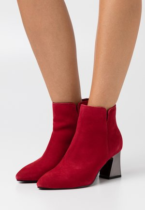 Ankle Boot - cherry
