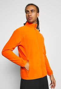 The North Face - M 100 GLACIER FULL ZIP - EU - Giacca in pile - flame - 3