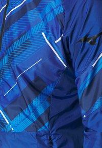 Mizuno - PRINTED JACKET - Trainingsvest - mazarine blue - 4