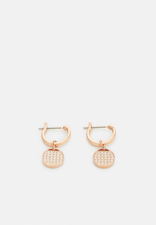 GINGER MINI HOOP - Náušnice - rose gold-coloured