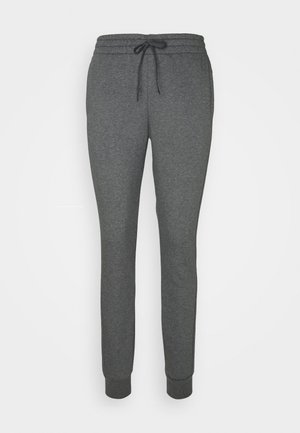 PANT - Tracksuit bottoms - mottled dark grey