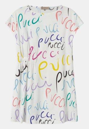Žerzejové šaty - bianco/multicolor