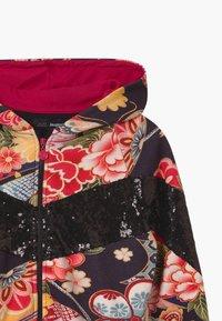 Desigual - DELAWARE - Zip-up hoodie - black - 2