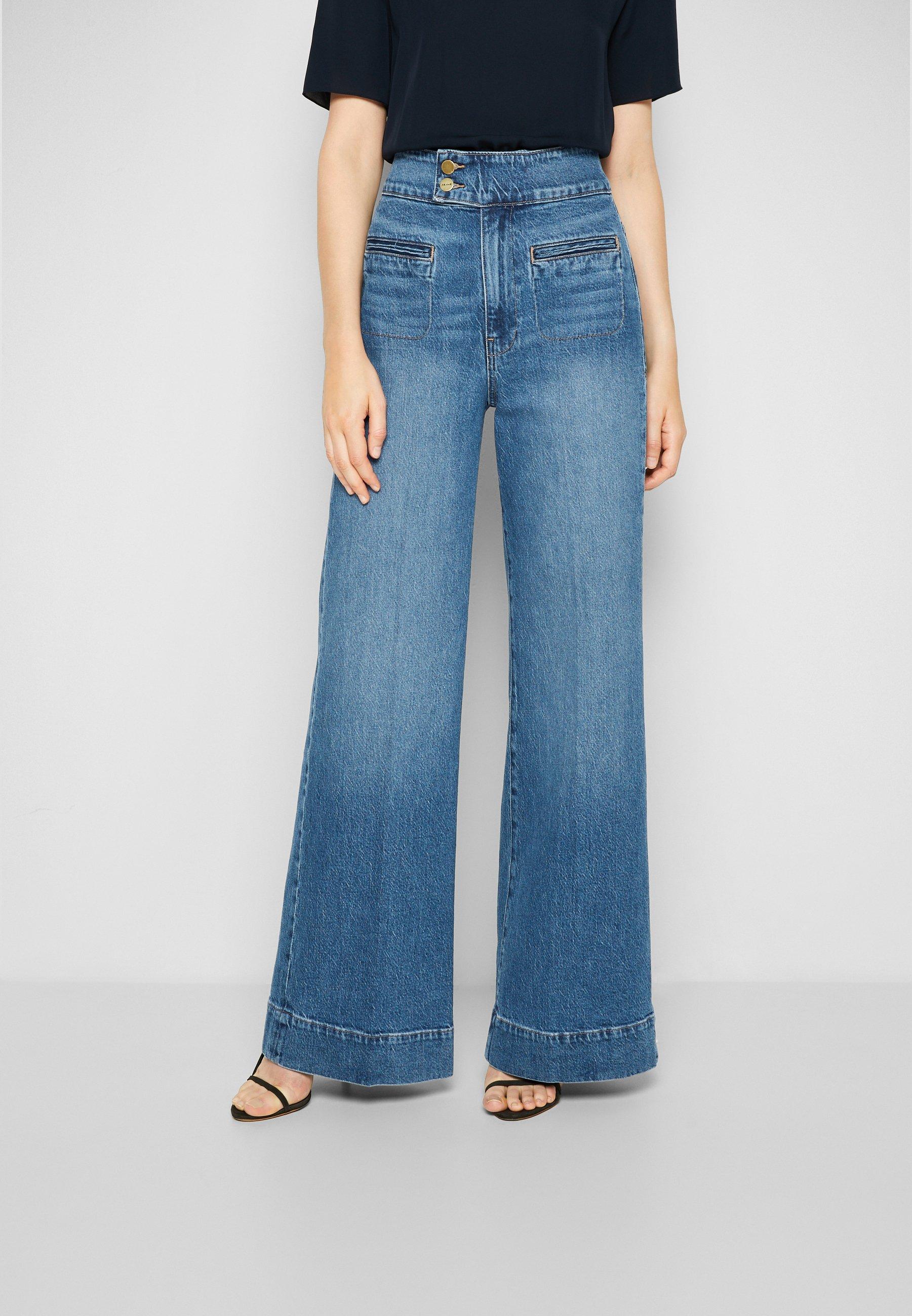 Women LE HARDY WIDE LEG - Straight leg jeans