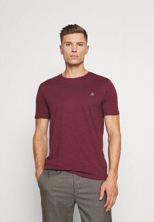 BASIC CNECK - Basic T-shirt - windsor wine