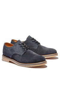 Timberland - OAKROCK LT OXFORD - Casual lace-ups - navy suede - 1