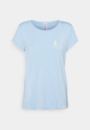 KURZARM FESTIVAL VIBE SLEEP - Pyjama top - sky blue