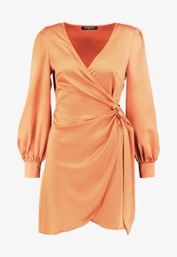 Fashion Union - FIQUE - Denní šaty - rust - 5