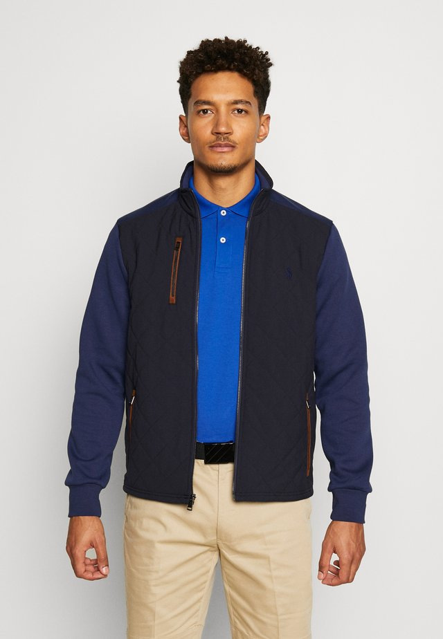 LONG SLEEVE - Chaqueta outdoor - french navy