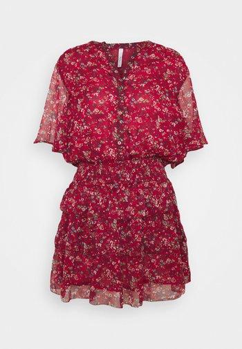 AMELIA - Day dress - red