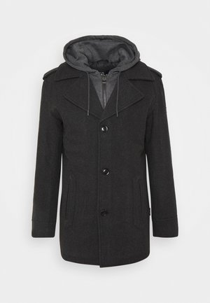ADAIR - Short coat - charcoal mix