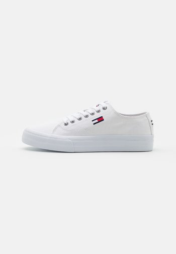 LONG LACE UP - Sneakers - white