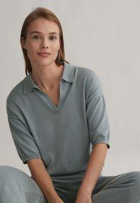 OYSHO - Polo shirt - grey - 3