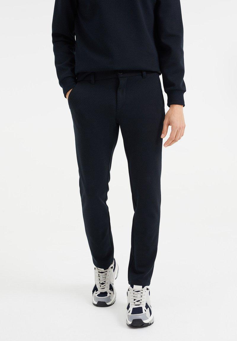 WE Fashion - Chinos - dark blue