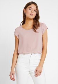 ONLY - ONLVIC SOLID  - T-shirts med print - pale mauve - 0