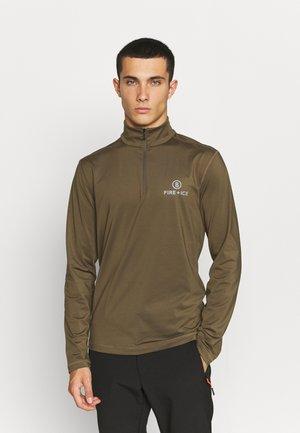 PASCAL - T-shirt à manches longues - brown