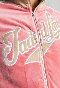 Jaded London - Sudadera con cremallera - pink - 4