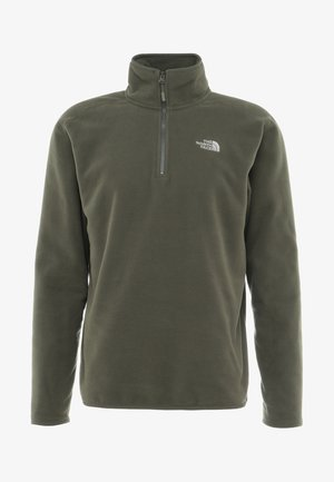 GLACIER 1/4 ZIP - Fleecetröja - new taupe green