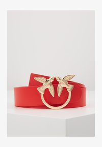Pinko - BERRI SIMPLY BELT - Pasek - red - 1
