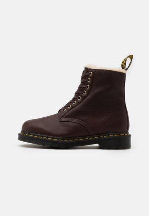 1460 PASCAL UNISEX - Lace-up ankle boots - cask ambassador