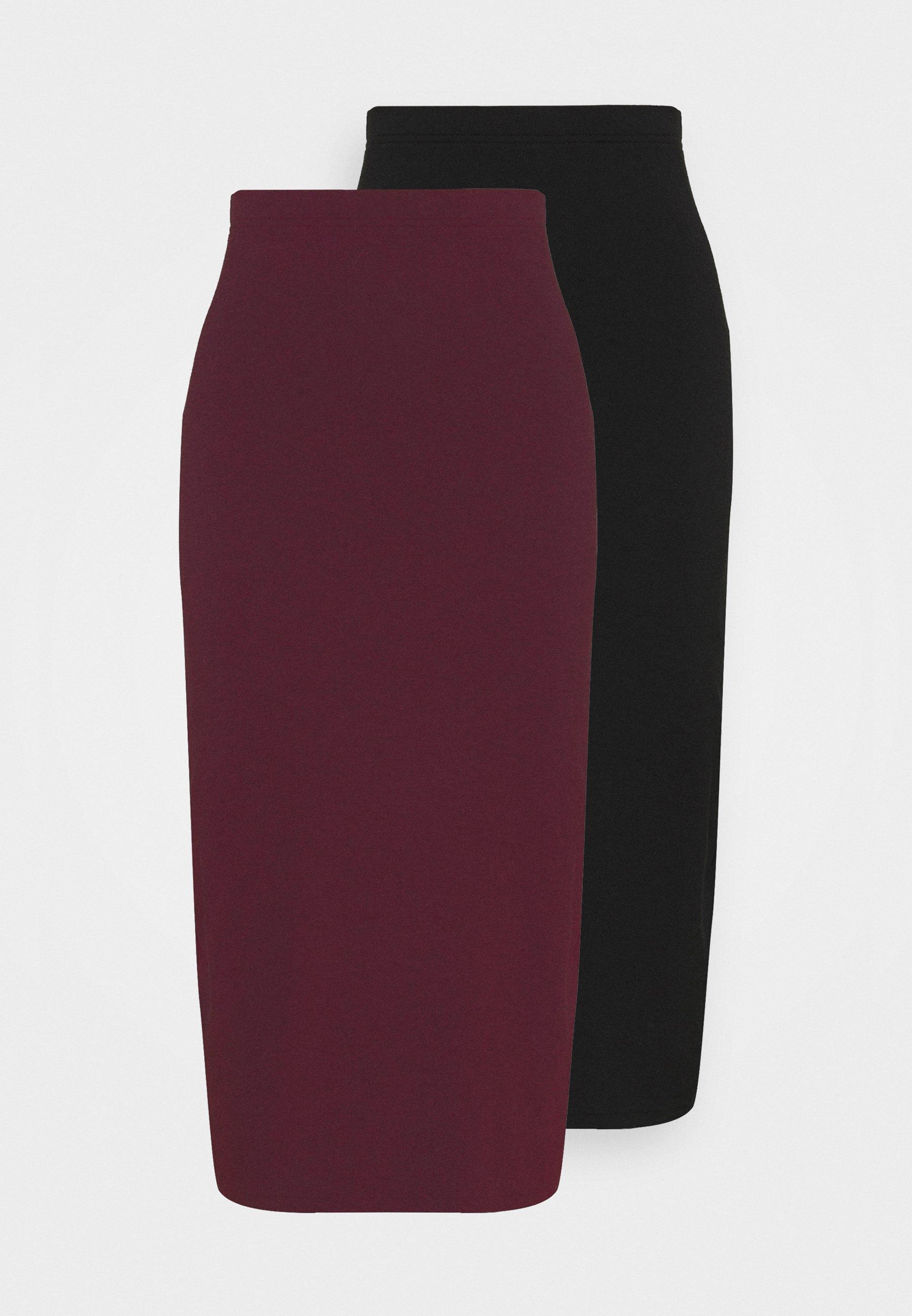 Women 2 PACK - Pencil skirt