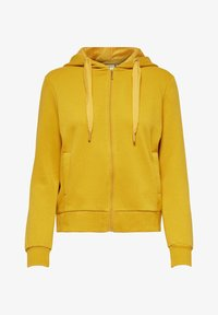 ONLY - Zip-up hoodie - tawny olive - 0