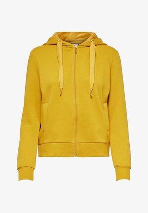 Zip-up hoodie - tawny olive