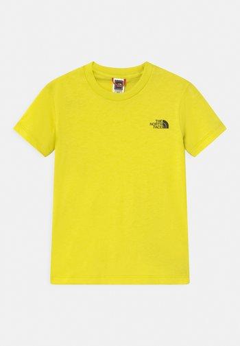 SIMPLE DOME TEE UNISEX - Print T-shirt - green