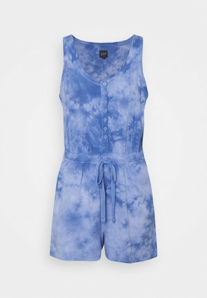TIE DYE - Jumpsuit - blue