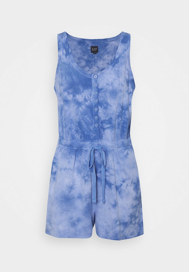 TIE DYE - Overall / Jumpsuit - blue
