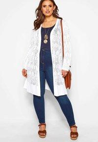 Yours Clothing - Cardigan - white - 1