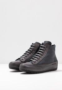 Candice Cooper - PLUS MONT - Sneakers high - antracite/tamponato antracite - 4