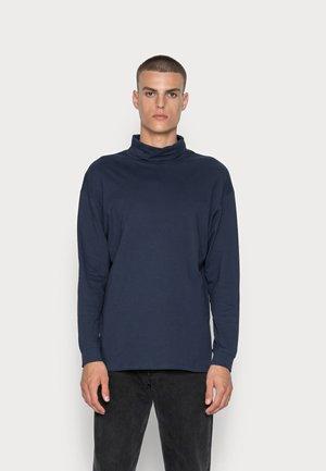 JORBRINK ROLL NECK - Maglietta a manica lunga - navy blazer