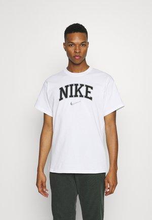 RETRO TEE - T-shirt med print - white