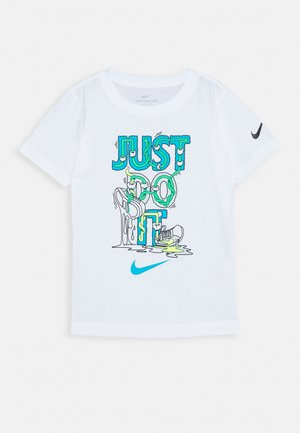 BOYS TEE - Print T-shirt - white