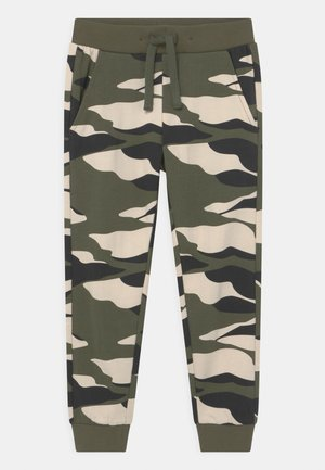 MINI STREET CAMOUFLAGE - Tracksuit bottoms - khaki/green