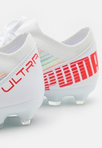 Puma - ULTRA 3.2 FG/AG - Moulded stud football boots - red blast/white - 5