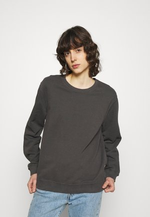 BASIC WOMAN - Sweatshirt - asphalt