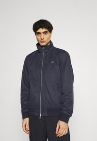 GANT - HAMPSHIRE JACKET - Summer jacket - evening blue - 0