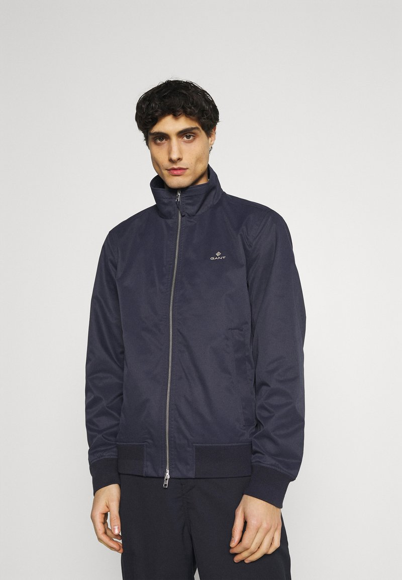 GANT - HAMPSHIRE JACKET - Summer jacket - evening blue